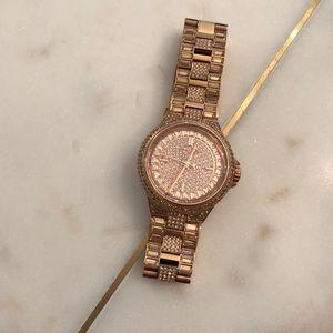 Michael Kors Rose Gold  Swarovski Watch